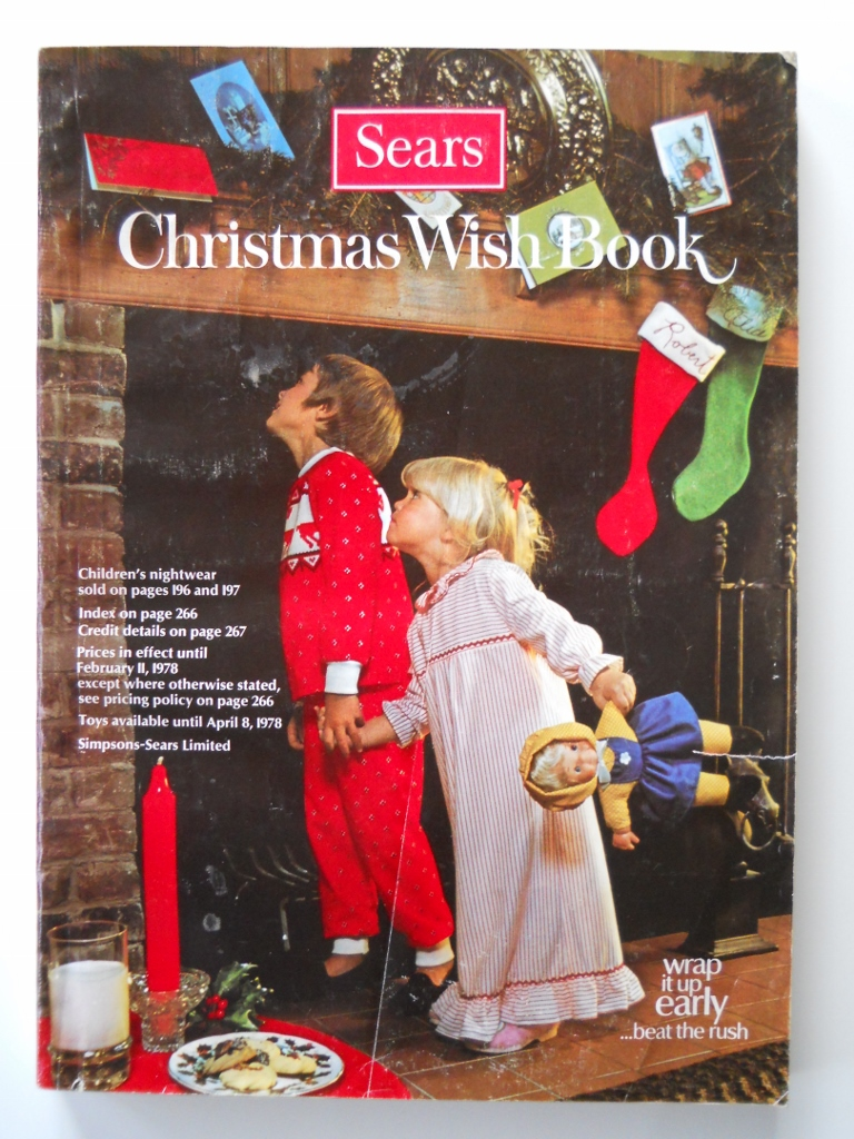 as at time of writing this sears canada continues to publish and distribute a paper version of their christmas catalogues for customers - Sears Christmas Catalog